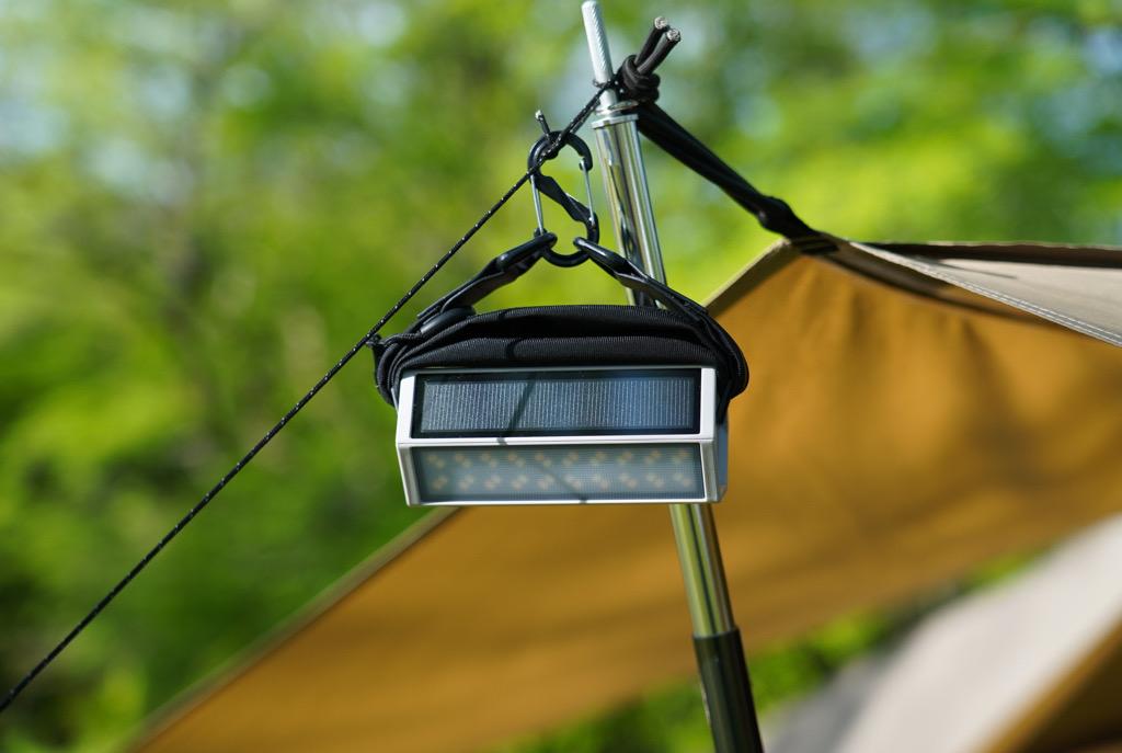 一台三役なROOT CO.のソーラー充電式LEDランタン「HEX-SoLa(へクス-ソラ)」