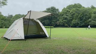 【コメリ テント】高コスパの『クイックアップ・キャノピー付ソロテント』をキャンプ系YouTuber FUKUが徹底レビュー
