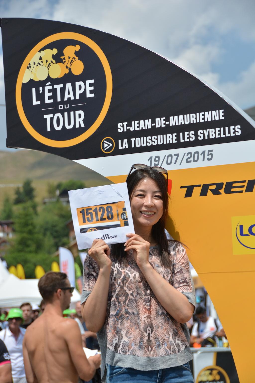 (過去記事)アヌシー湖畔をサイクリング 日向涼子さんはエタップ・デュ・ツール出場へ準備万端