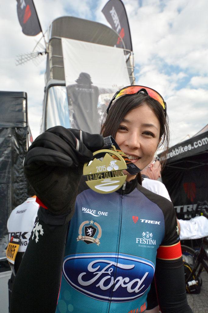 (過去記事)日向涼子さんが「エタップ・デュ・ツール」完走 厳しい山岳コースを10時間53分でゴール