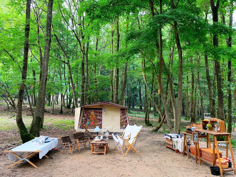 【ファミリーキャンパー必見】自然に馴染む素敵空間を作る!おすすめのギア