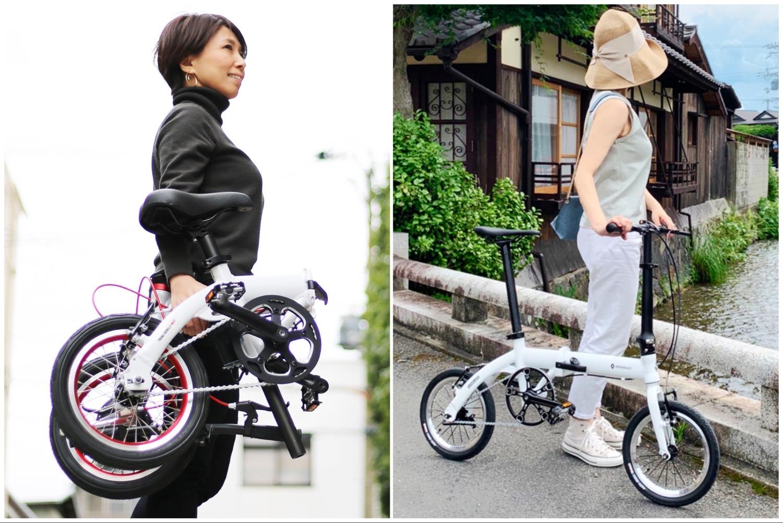 【最軽量】の折りたたみ自転車&電動アシスト自転車で輪行旅!「旅に出よう!輪行セット」発売
