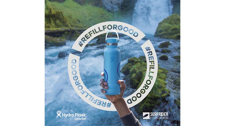 Hydro Flask(ハイドロフラスク)が環境汚染問題を喚起する取り組み「Refill For Good」キャンペーンを開始。限定ボトルもリリース。