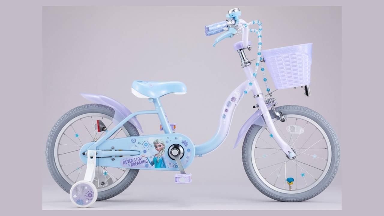 「AEON BIKE(イオン バイク)」限定!キッズサイクル『アナと雪の女王』デザイン7月14日(水)より順次、発売