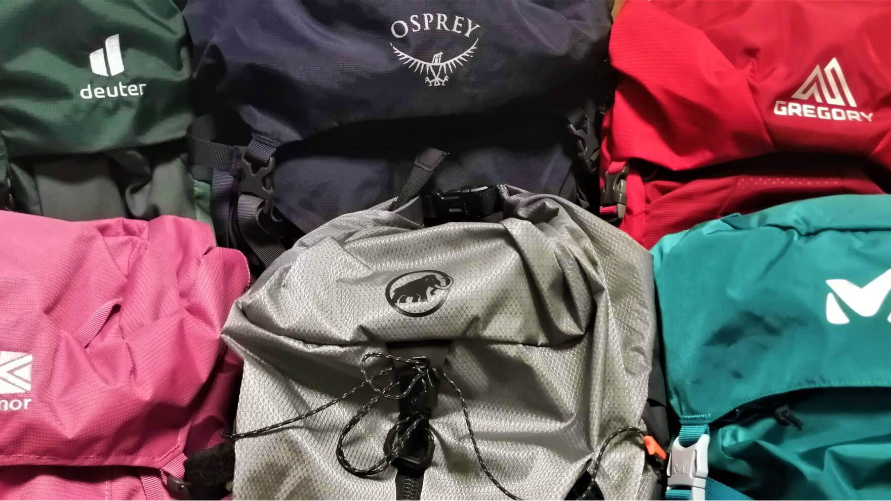 【忖度なしの自腹比較レビュー】女性向けバックパック編。オスプレーが好き過ぎる百名山ハンターの登山女子に、新たなシンデレラ・バックパックは現れるのか?