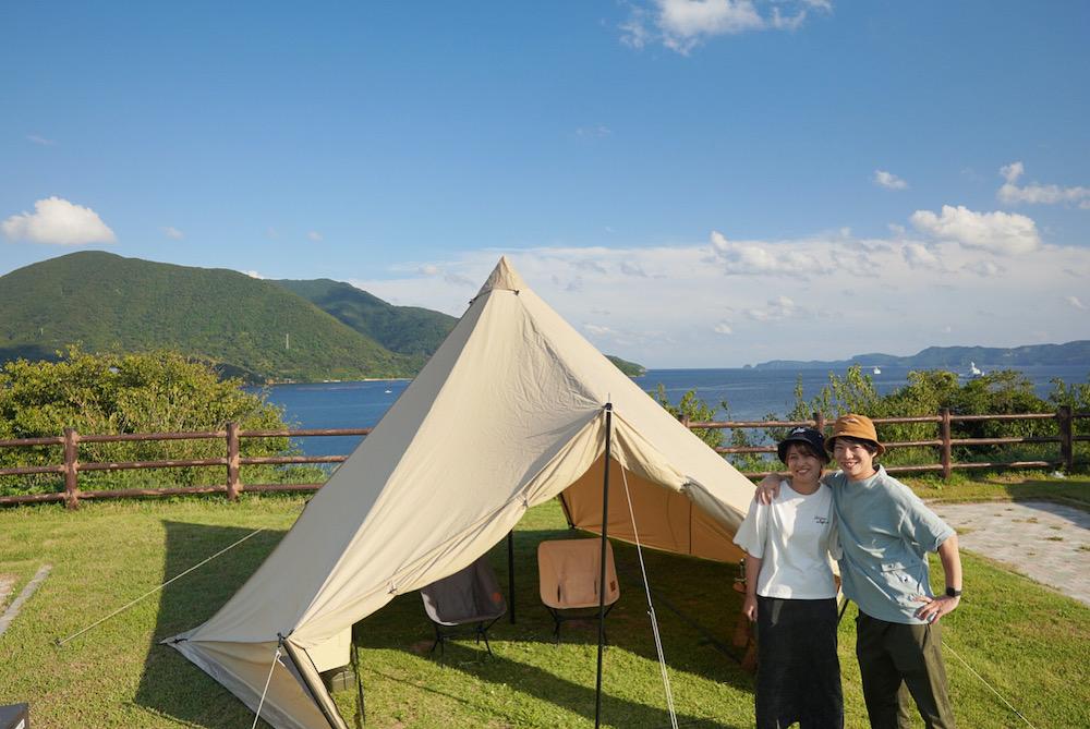 【島根鼻公園オートキャンプ場】隠岐で絶景島キャンプ!離島とは思えない高規格サイトをご紹介!
