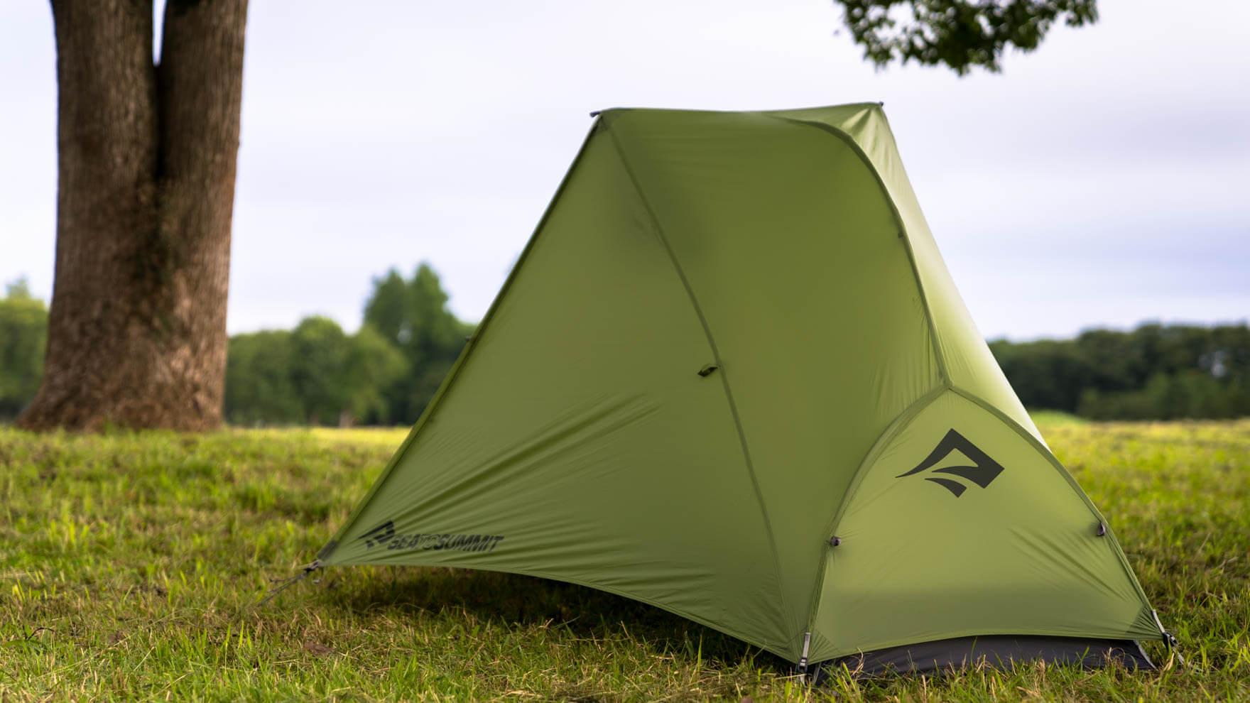 【忖度なしの自腹レビュー】すべては快適さと、使いやすさのために。斬新で実用的なアイデアがてんこ盛りの軽量テント SEA TO SUMMIT アルトTR1プラステント