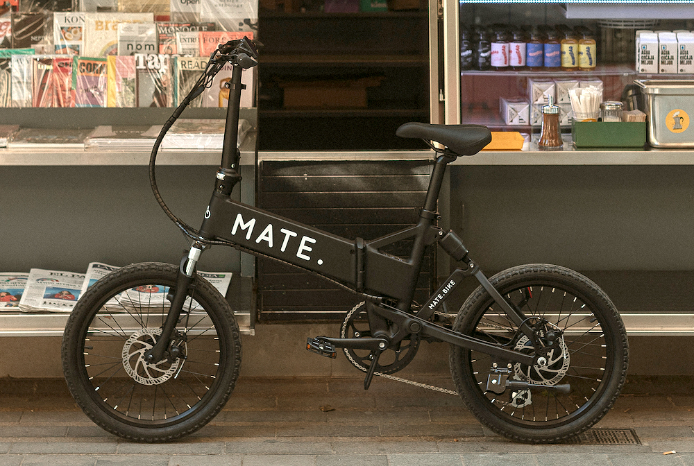 おしゃれでタフな話題のe-BIKE「メイトバイク」に、街乗りモデルが登場!