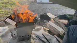 DCM入手困難な『へキサファイアピット』は二次燃焼構造でコスパ最強のすごい焚き火台!