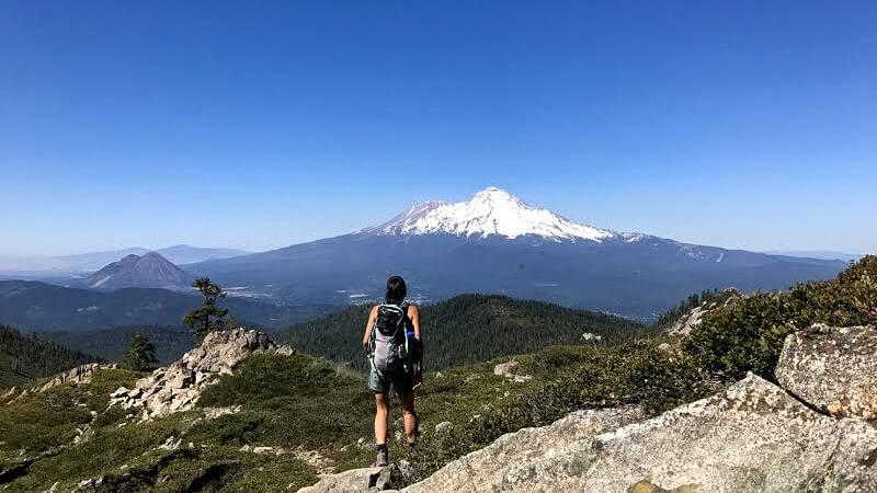 歩かずに死ねるか!アメリカ国立公園への旅(23)Mt. シャスタの宝石 ~Castle Lake編~