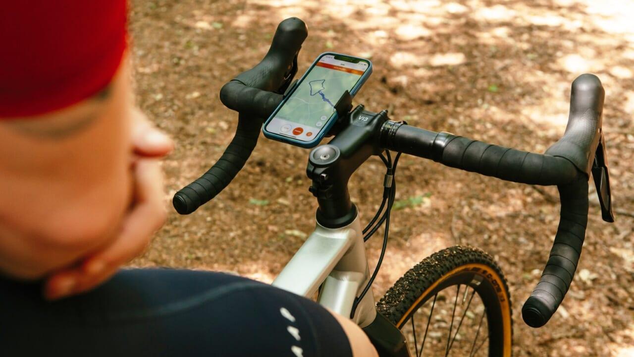 一生ものの自転車用スマートフォンホルダー『Loop Mount Twist』