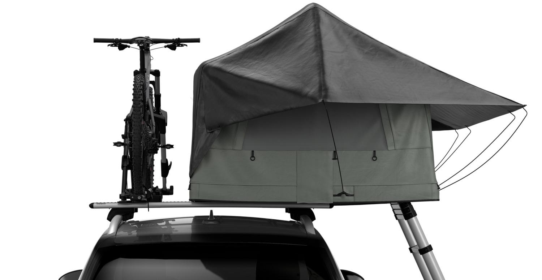 【THULEから車用ルーフテント登場】自転車やカヌーなどを同時に積める!