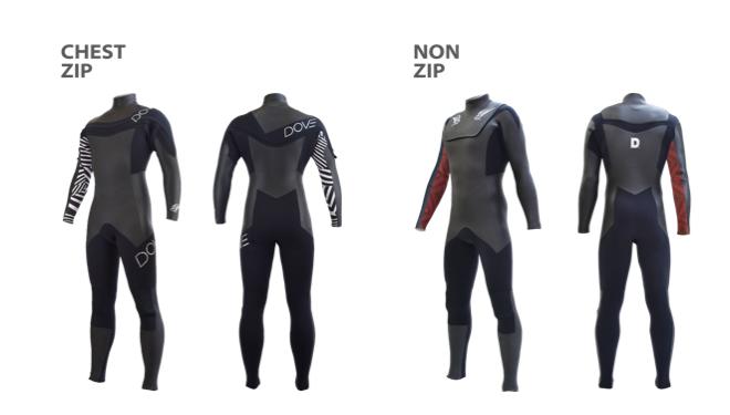 DOVE WETSUITS から超軽量・高伸縮・保温性の、新時代のウエットスーツ登場