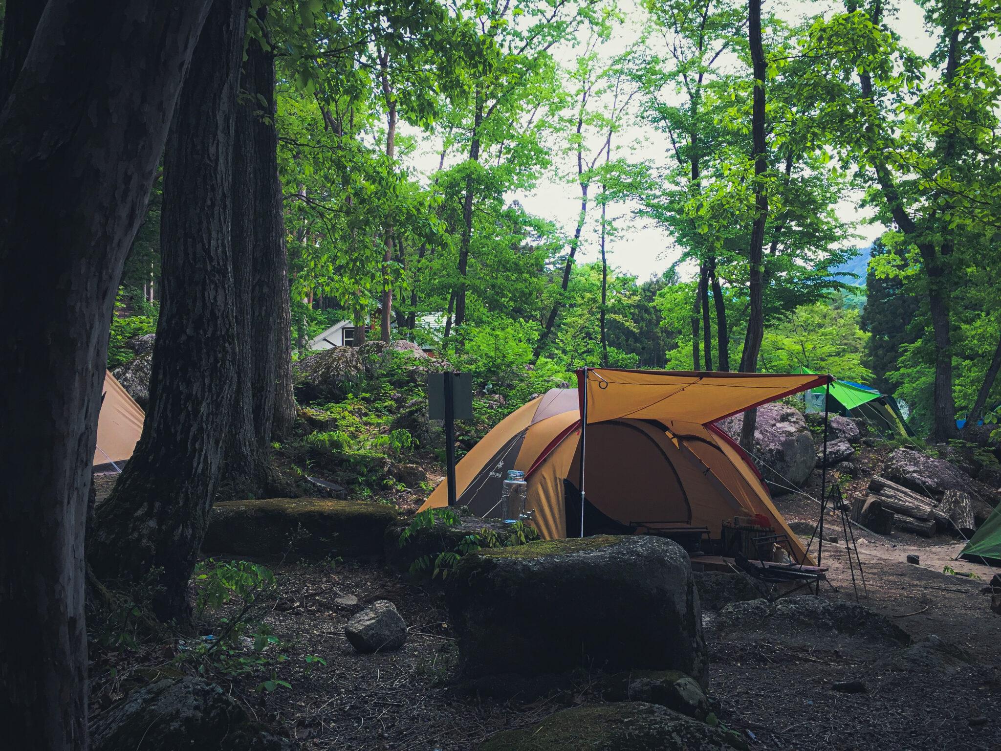 """実はキャンプ場への予算配布を高めにするのが """" 快適な"""" キャンプへの近道"""