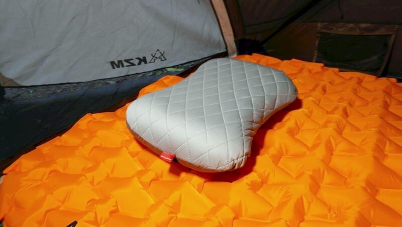 【人気】デルピコ(DELLEPICO)のキャンプ枕をレビュー   100均とは雲泥の差