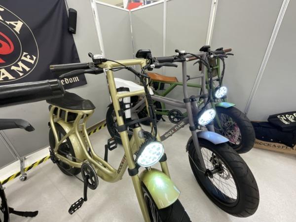 ミニバイク風デザインで注目のE-Bikeブランド「ROCKA FLAME」
