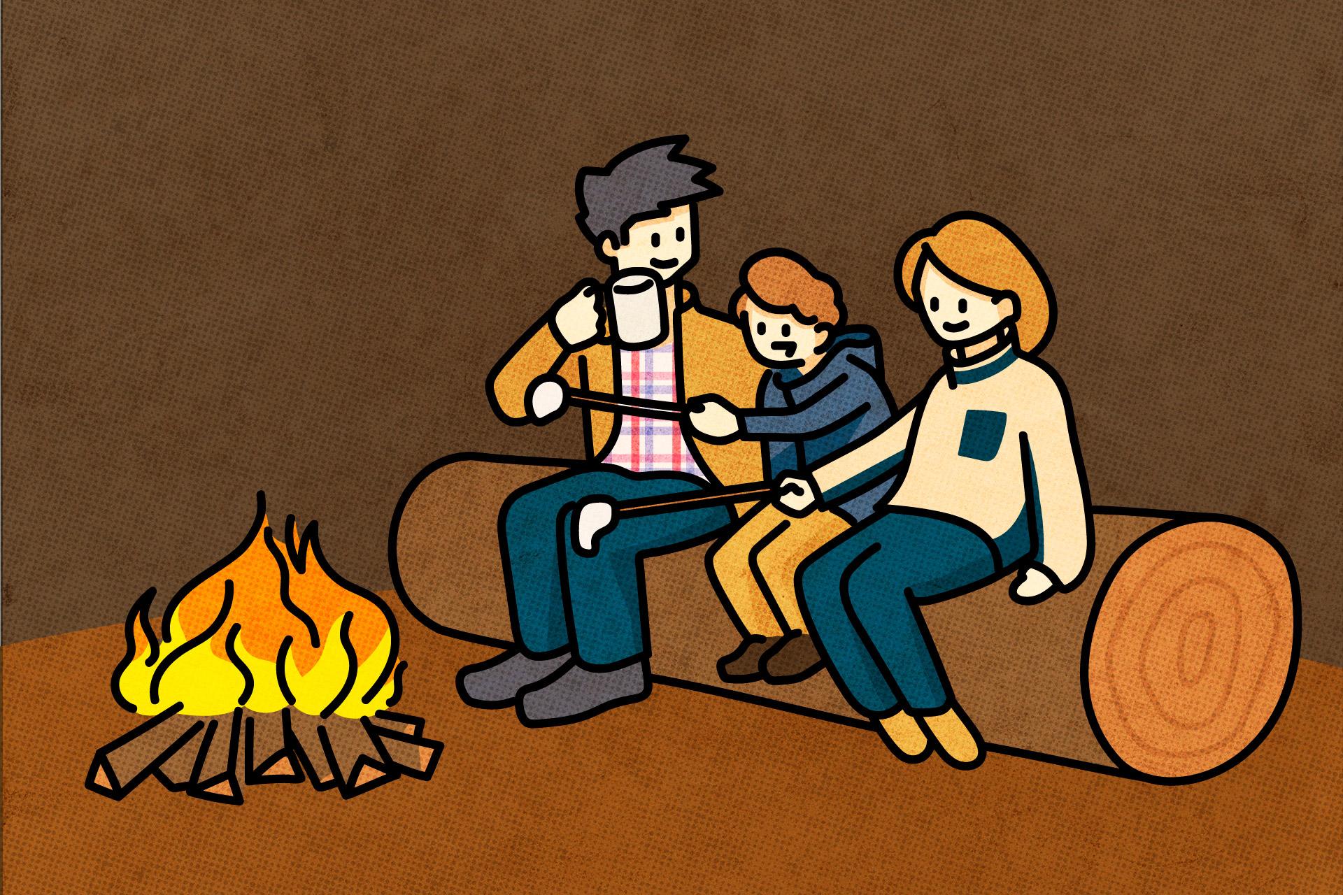 初心者キャンパーにもおすすめ!家族で楽しめる秋冬ファミリーキャンプ・遊び方特集