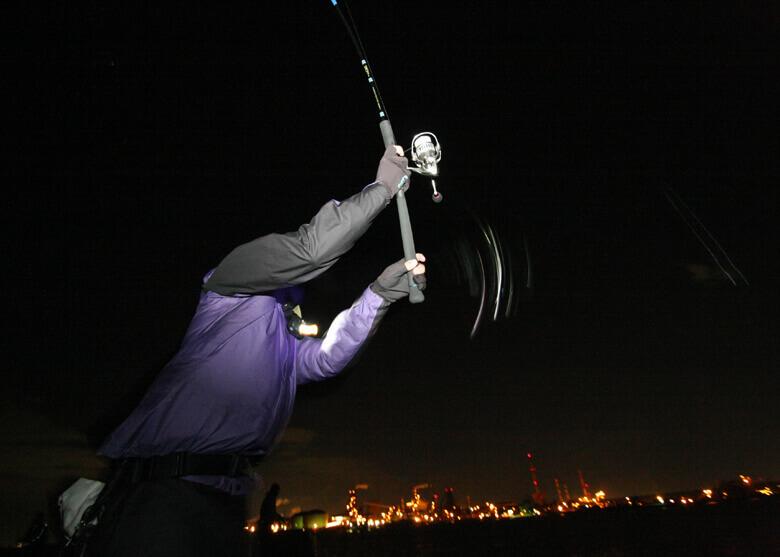快適夜釣りの要 仕掛などのトラブルを最小限に!