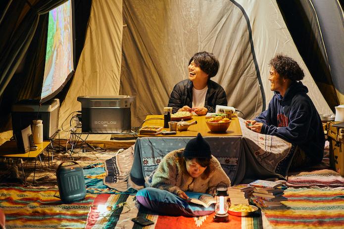 【秋冬キャンプ攻略】ぽかぽか快適キャンプは「ポータブル電源×お座敷スタイル」が最強です