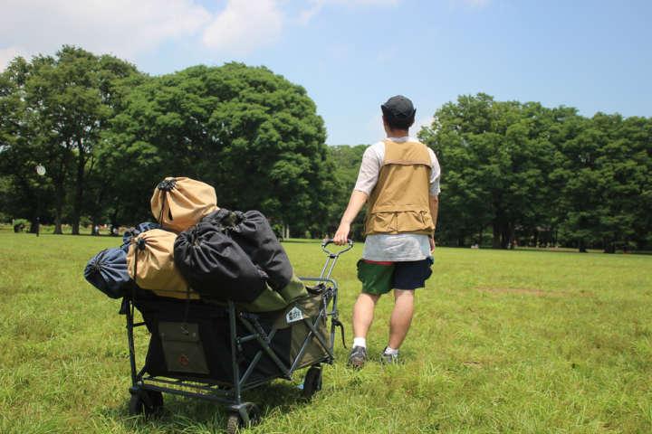 大きなギアもラクして運べるアウトドアワゴン5選【趣味な男の収納ギア】