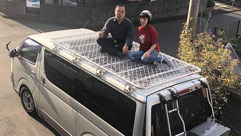 ガンダム世代がハイエースを本気でDIY!!車旅を楽しむオーナーインタビュー