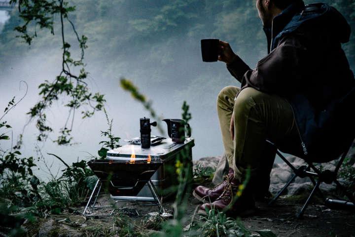 キャンプでもHARIOのアウトドア用コーヒーギアで至福の一杯を!