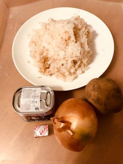 キャンプで簡単料理。冷やご飯でささっと作る雑炊はいかが?