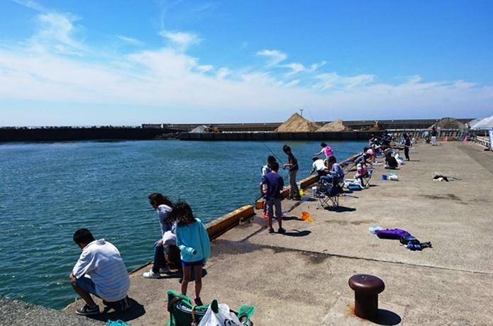 大磯港で魚釣り【神奈川】サビキで狙うアジ・クロダイも釣れる?