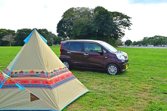 レンタカーで2人キャンプ!適した大きさや予約の時間を車を持たない夫婦が教えます