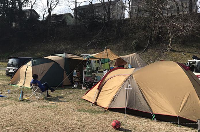 キャンプの流れをイメージ!「ファミリーキャンプ・一泊二日」のモデル例
