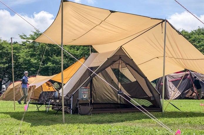 2人~4人使用におすすめしたいA型テント、ogawa「トリアングロ」10の魅力