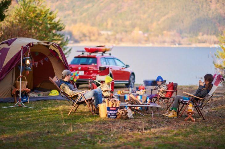 フォルクスワーゲンで、ちょっと楽したキャンプへ行ってみませんか?