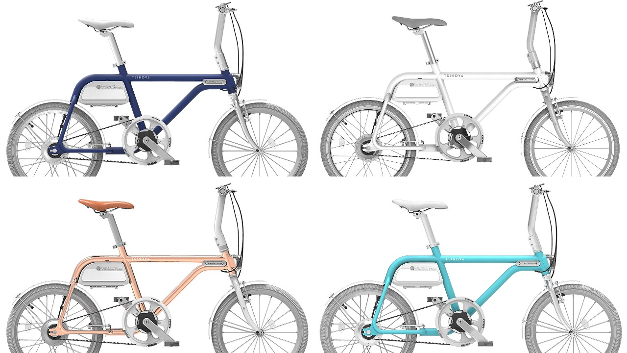 おしゃれな軽量電動自転車「チノーバ」【女子おすすめのミニベロ】