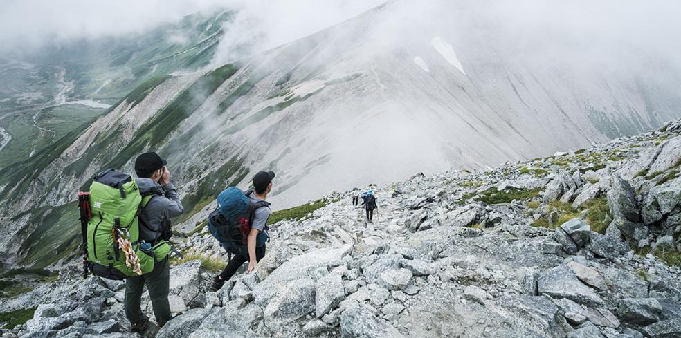 karrimor mountain journal vol.24 立山〜剱岳(DAY1)
