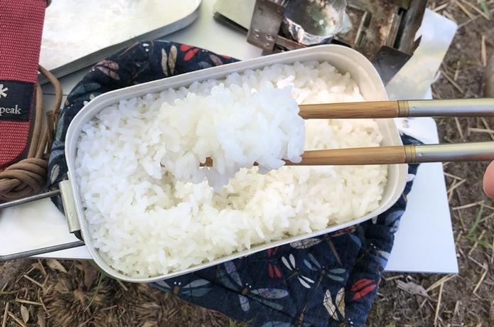 【簡単】メスティンで美味しいご飯を炊く全行程を達人に聞いた!