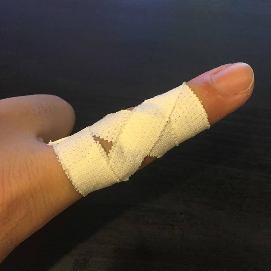 指が痛いけどボルダリングしたい!指関節を保護するテーピングのやりかた!