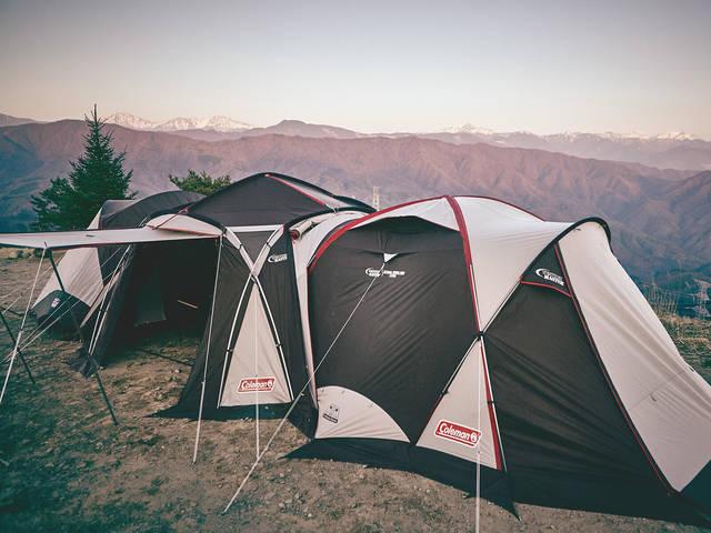 Colemanのタープで、キャンプをもっと快適に!