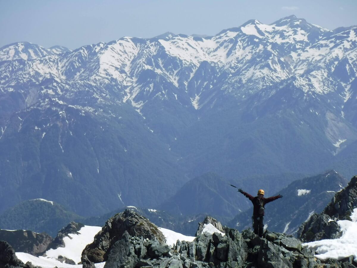 私の大好きな山『剱岳』