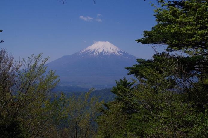 御正体山|富士山を間近に望む、プリンスも登った登山コース