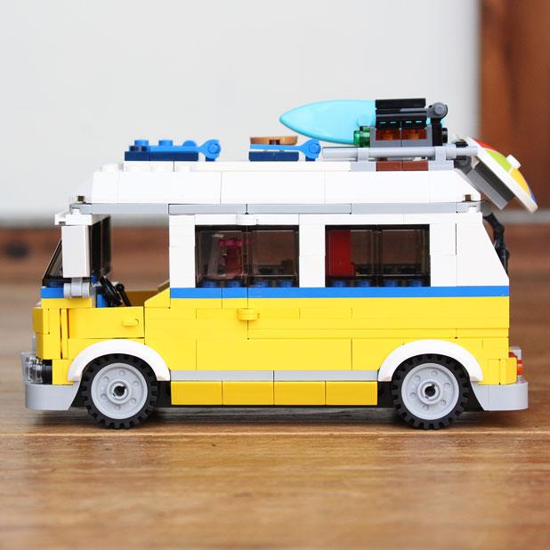 LEGO CREATORのキャンピングワゴンをつくってみた