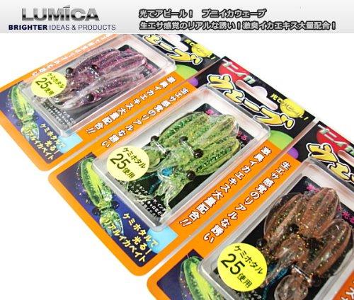 ルミカ「プニイカシリーズ」!光と匂いでロックフィッシュ攻略!