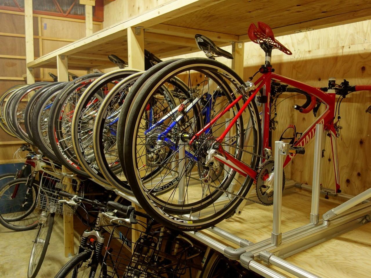 スポーツ自転車は保管場所が重要な理由