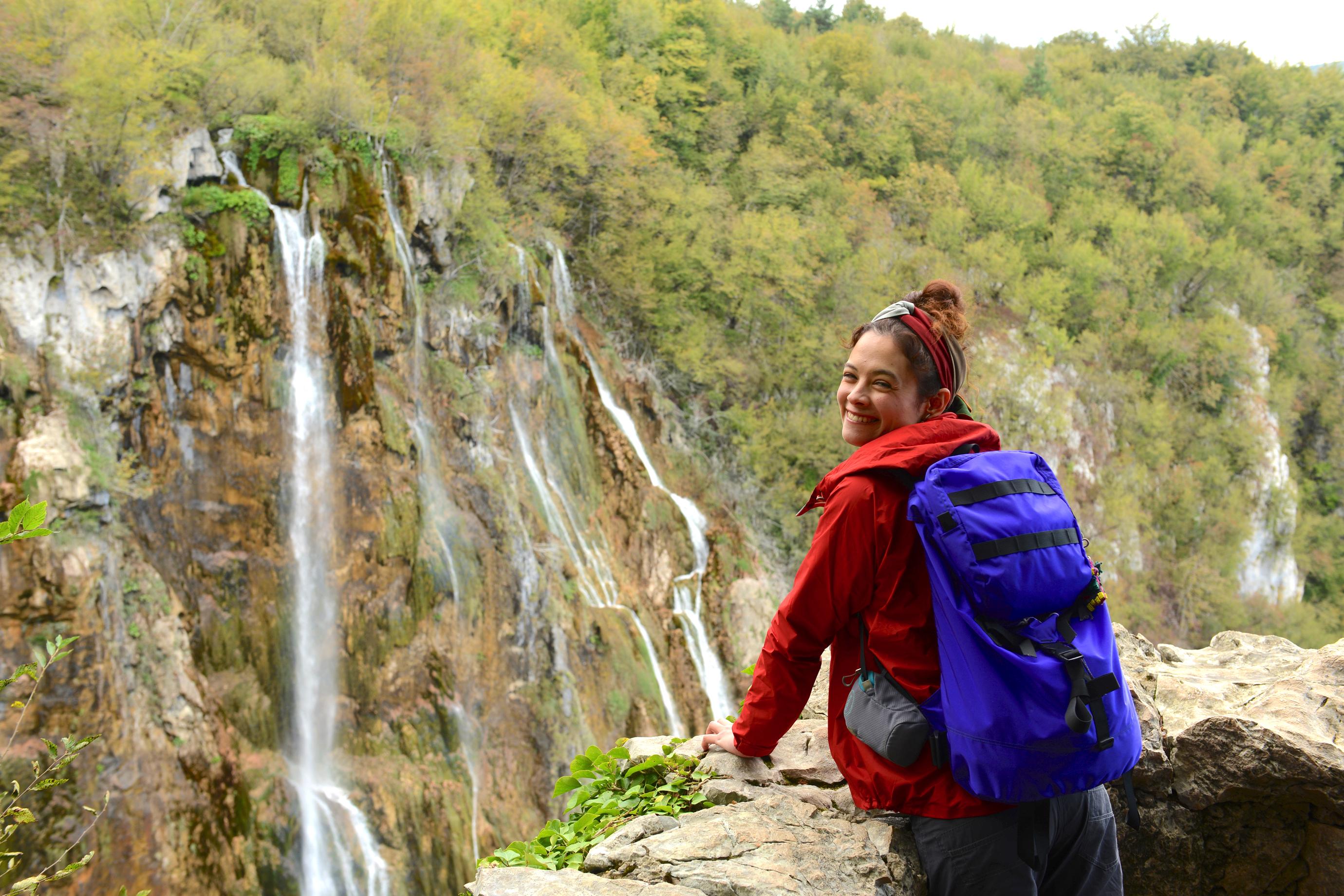モデル仲川希良の山でお泊まり、クロアチア・プリトヴィッツェ国立公園Vol.1