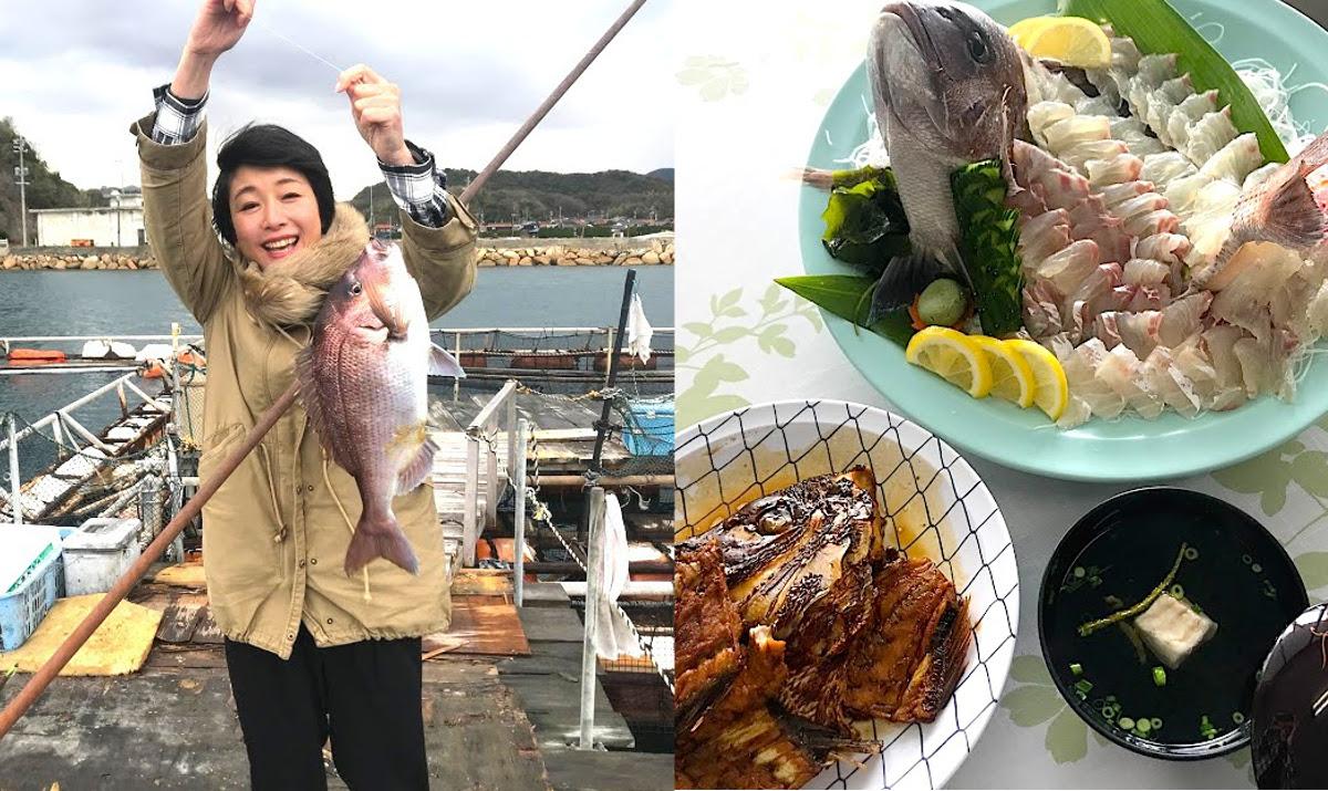 【山口・下関】釣りたてを料理してもらえる海上釣り堀!3歳でもOK