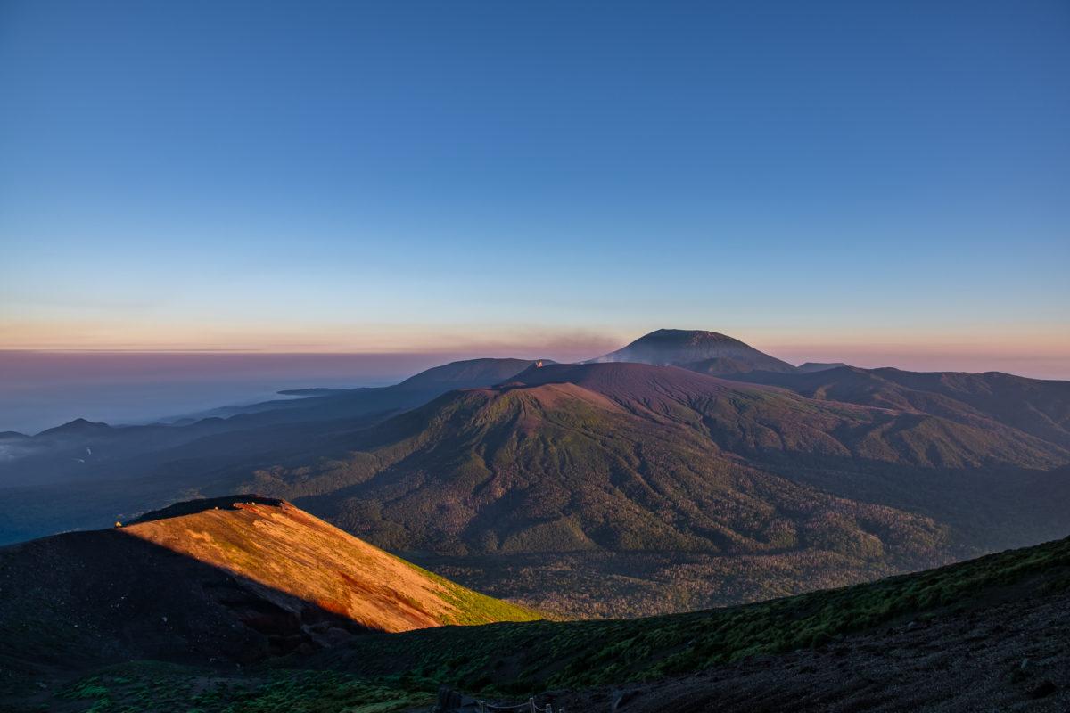 地球の息吹を体感するトレイルランニングコース「霧島連山」