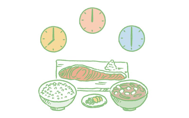 「1日3食」の意味をあらためて一度考える