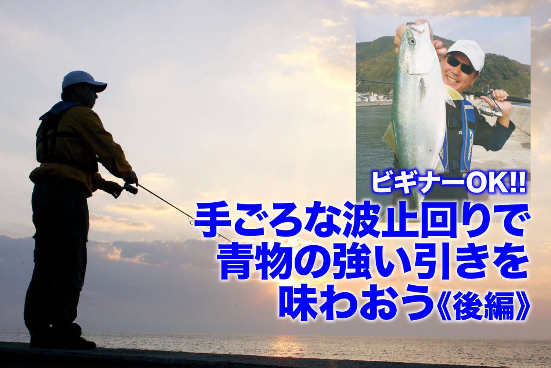 【ビギナーOK!!】手ごろな波止回りで青物の強い引きを味わおう《後編》