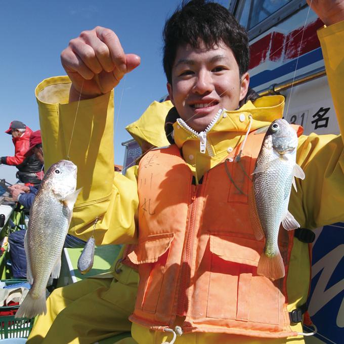 【東京湾・八景沖】コマセを使わないイシモチ! 仕掛けと釣り方