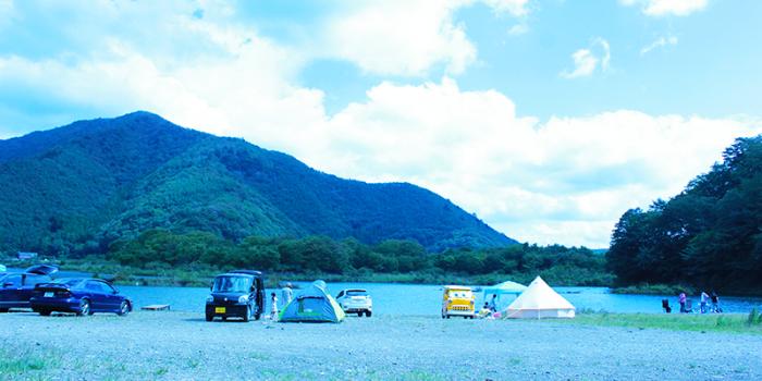 【キャンプレポート】精進湖 自由キャンプ場