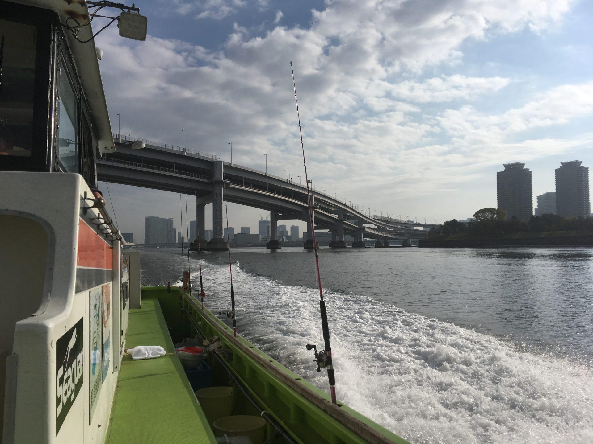 初めての船釣り。東京湾で春マゴチを狙う!